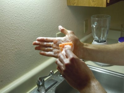Cleaning Hand