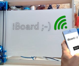 IBoard! Web-controlled Whiteboard