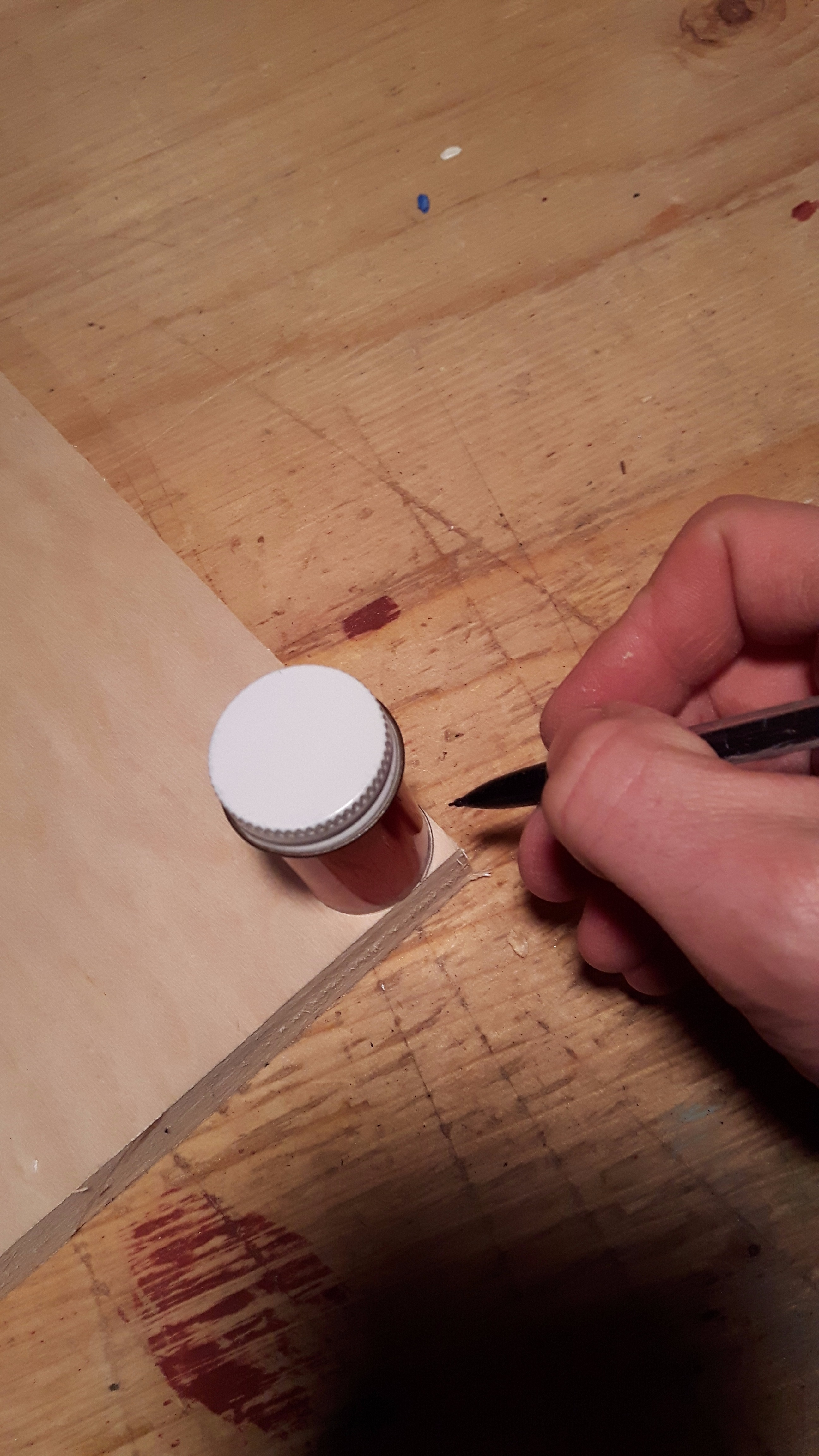 Picture of Cutting and Prepping the Pieces