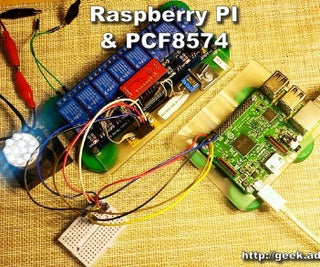 Control Any Devices Using Raspberry PI and PCF8574, Relay Module