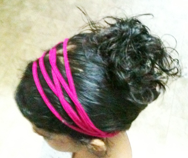 Picture of Chic Head Band From an Old T-Shirt