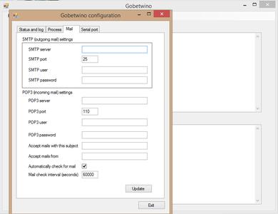 Mail Server Config