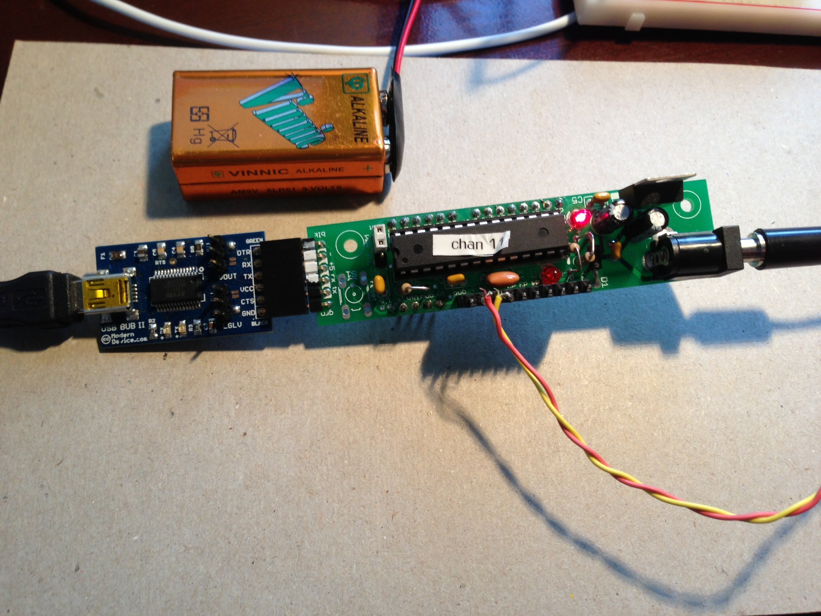 Picture of Building a Midi Controller With the Boarduino