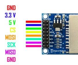 Arduino + SD Card Module