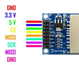 Arduino + SD Card Module
