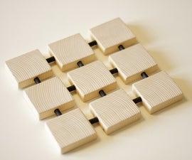 Square Wood Trivet