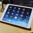 Leather & Sugru iPad Air Stand