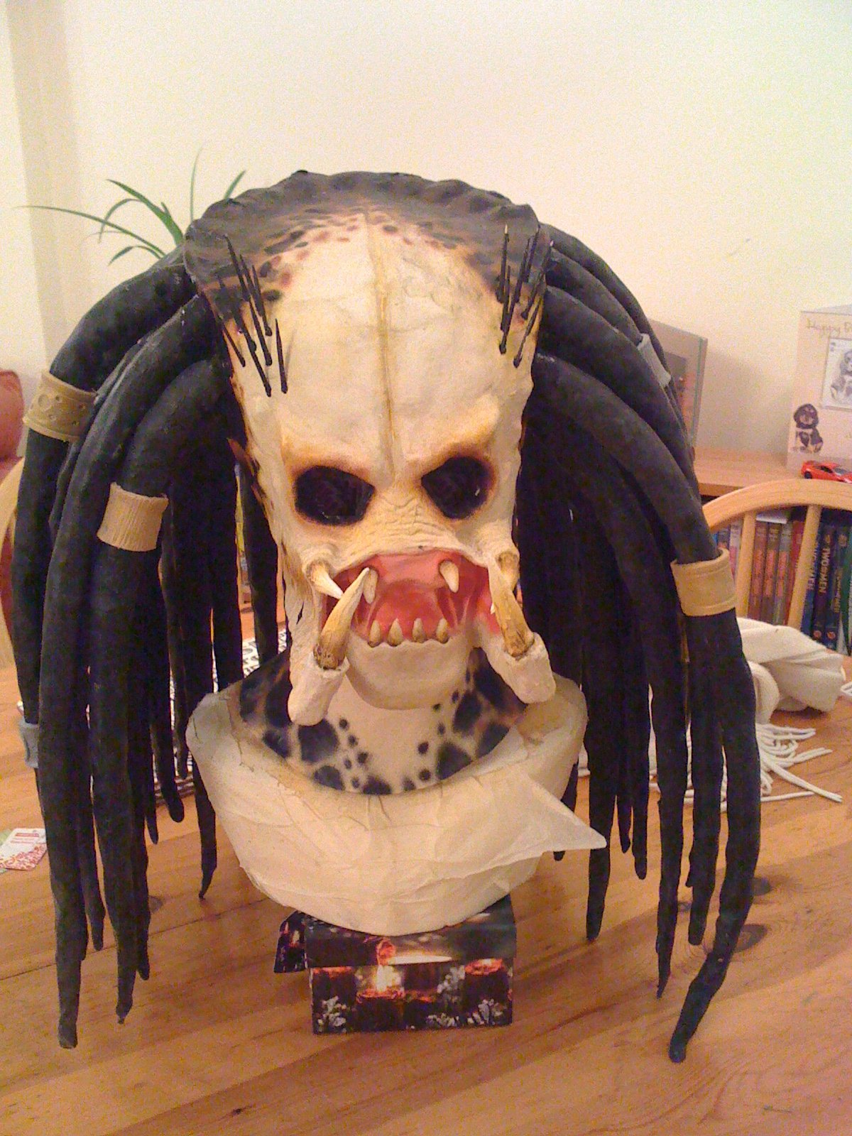 Picture of How to Make a Latex Mask With a 2 Part Mold