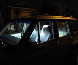 Use LED Light Strips to Moderate Your Auto Interior