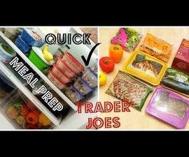 Easy Trader Joe's Meal Prep