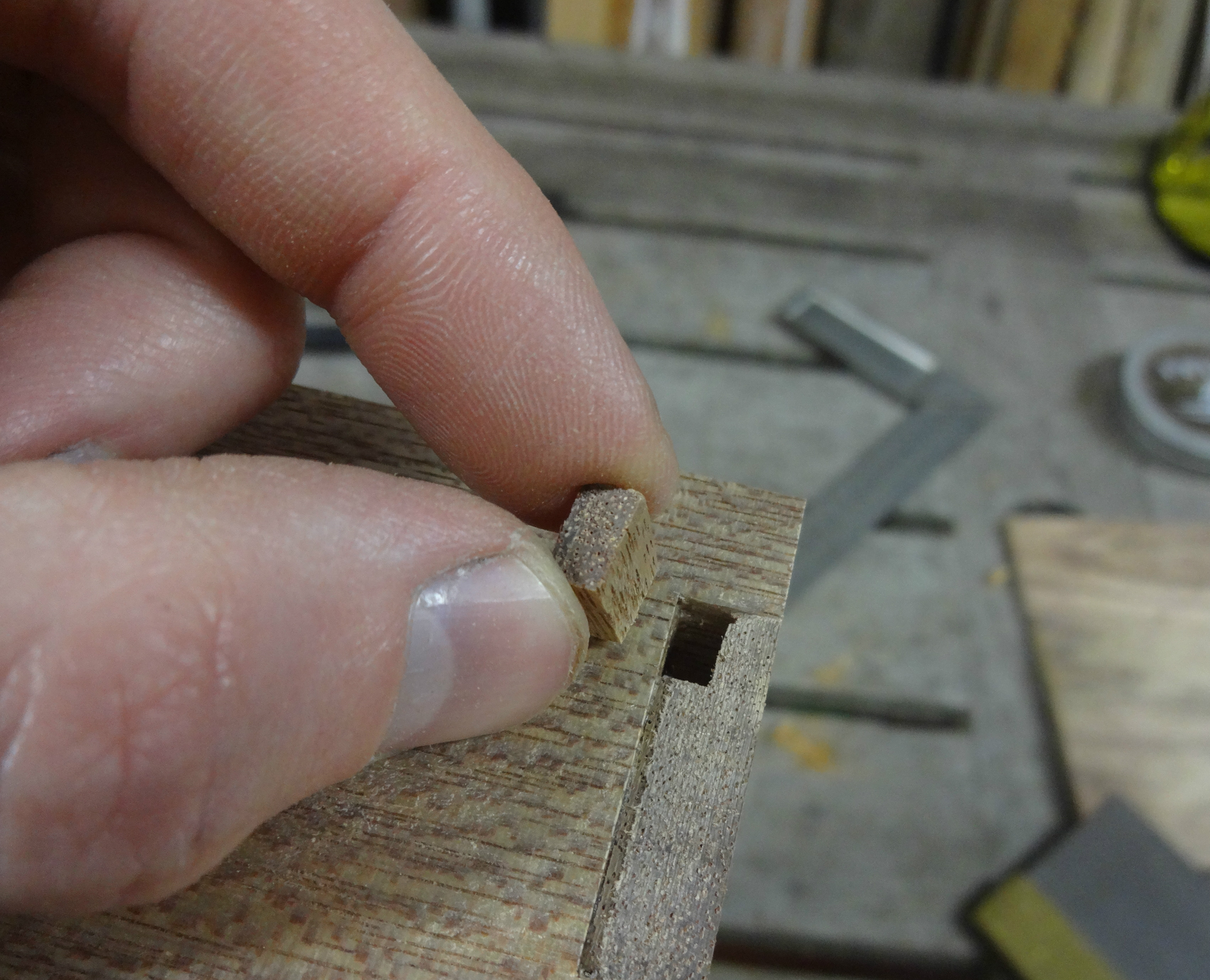 Picture of Gluing Up the Sides (and Fixing Mistake)