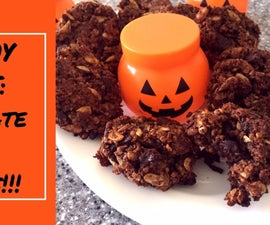 Healthy Chocolate Chip Oatmeal Cookies!!