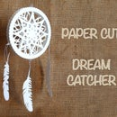 3D Paper Cut Dreamcatcher