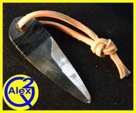 Making a Thumb Dagger - Inspired by WW2 Clandestine Daggers