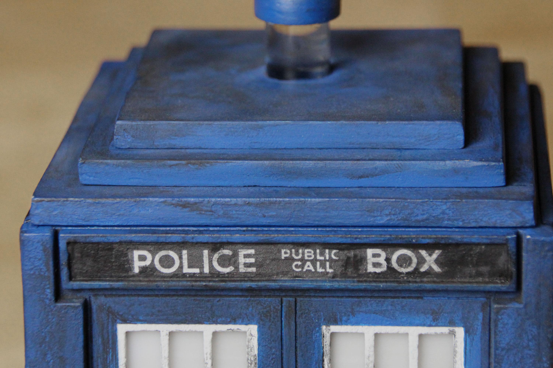 Picture of Tardis Puzzle Box Night Light