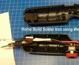 User Constructed Lithium Battery Powered Soldering Iron