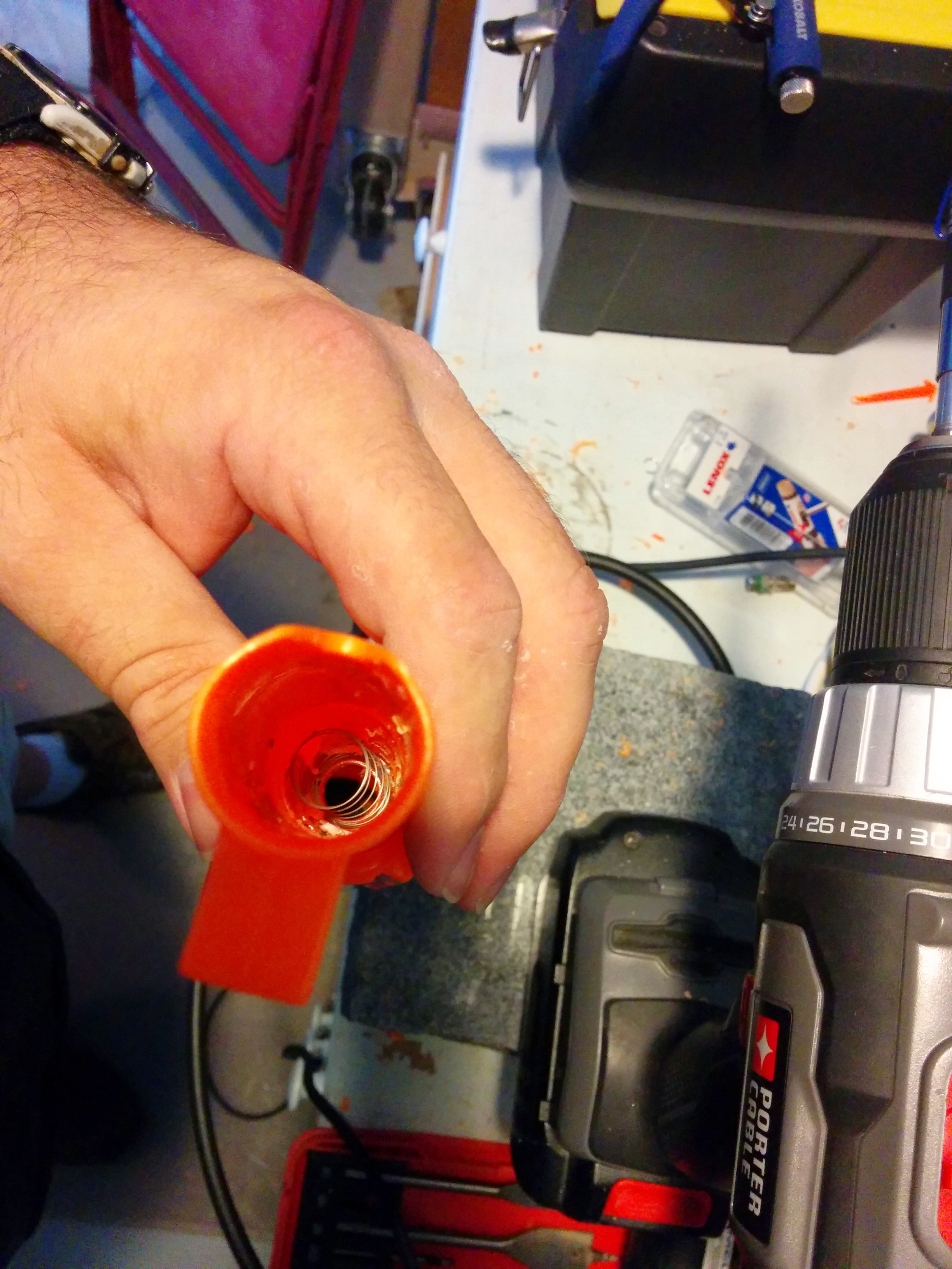 Picture of Removing the Remaining Air Restrictor Pieces