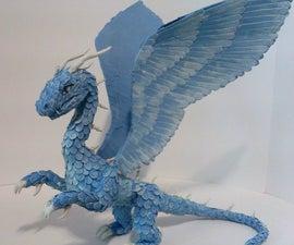 Making Paper Dragon - Safira