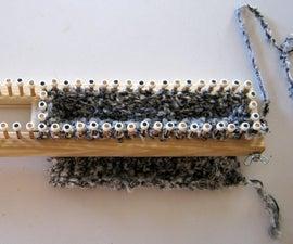 Make an Adjustable Knitting Loom