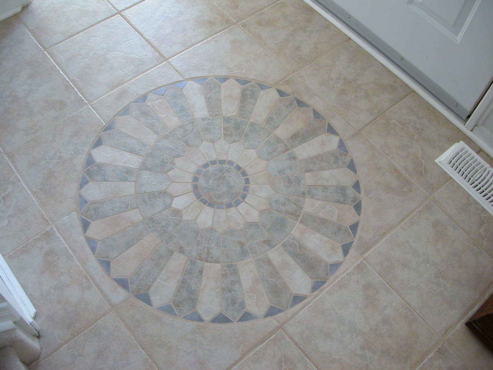 Picture of Floor Tile Mosaic Insert