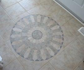 Floor Tile Mosaic Insert