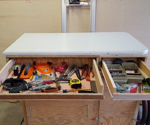 Add a Formica Top & Drawers to Your Work Bench
