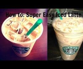 HOW TO: Starbucks Iced Latte