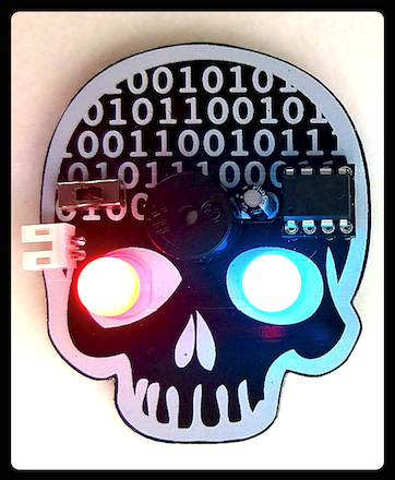 Picture of BitHead Wearable Programming