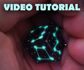 Glow in the dark Constellation Dice - NOW WITH VIDEO!