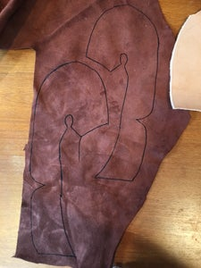 Transfer the Pattern to Leather