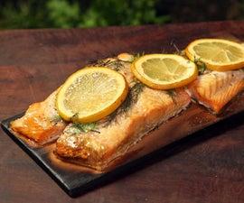 How to Cook Salmon Smoked on Cedar Wood