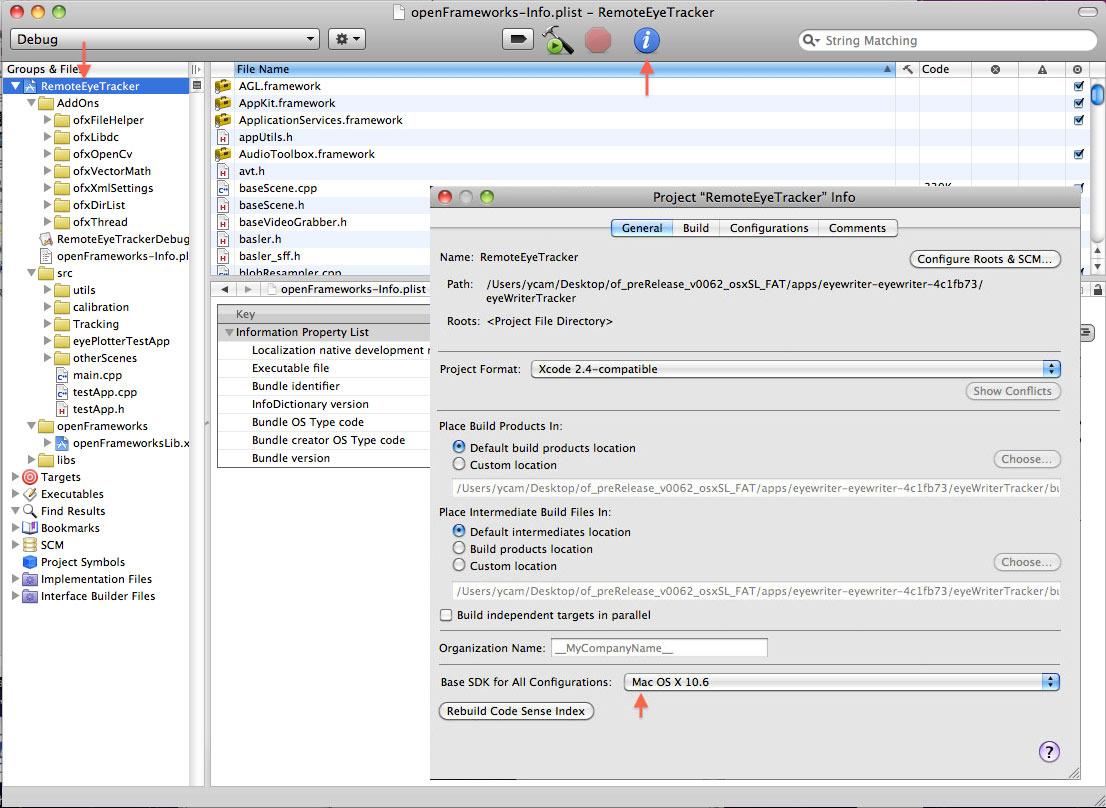 Picture of Software - OpenFrameworks & EyeWriter