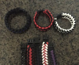 Standard Paracord Bracelet How to: