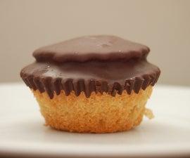 homemade jaffa cupcakes