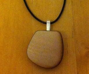 Lasercut Necklace Pendant