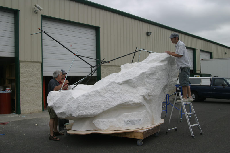 Picture of CNC Rock and Finish