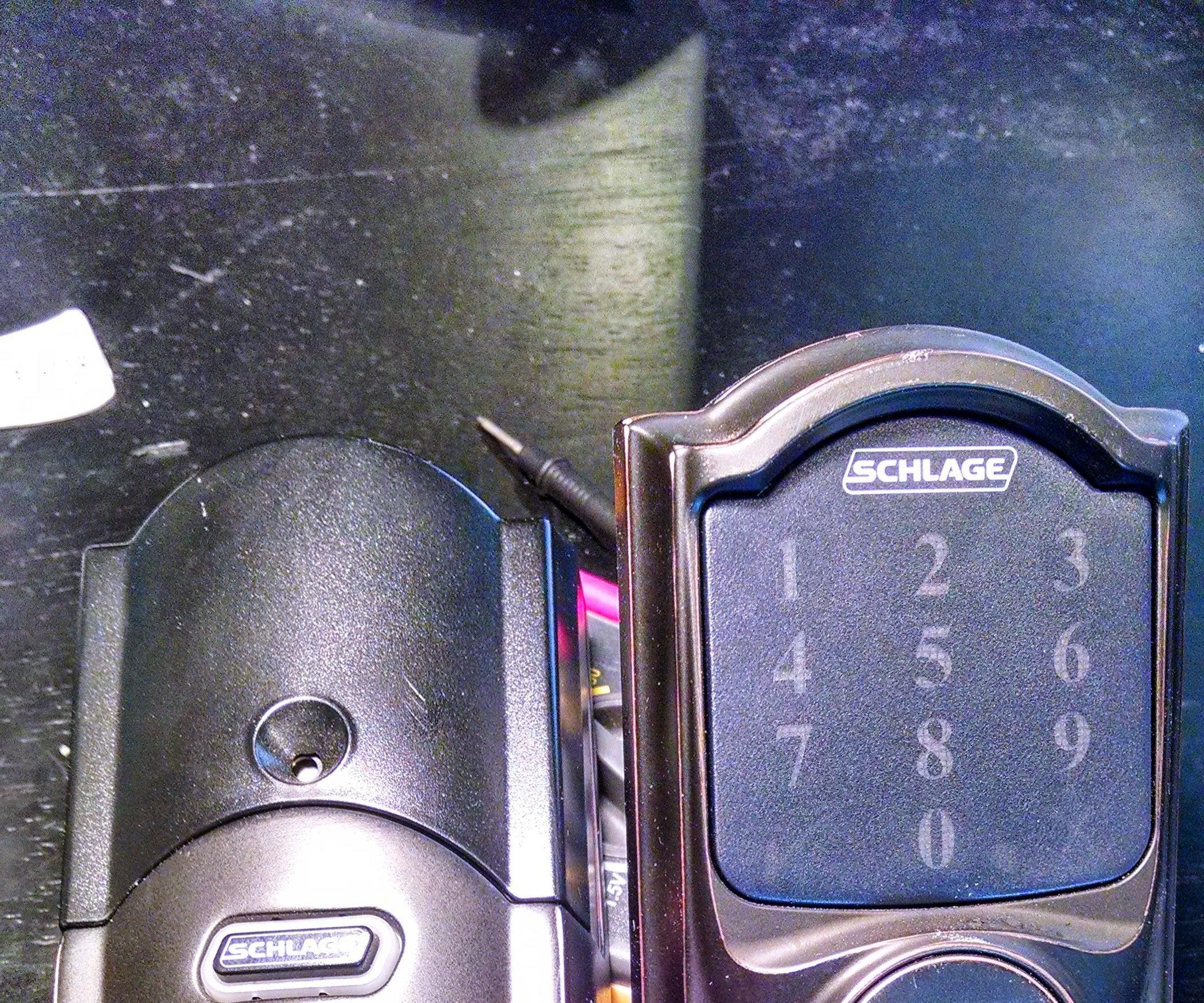 Touchscreen Repair: Schlage BE469NXCAM716 Camelot Touchscreen Deadbolt With  Z-Wave Technology : 6 Steps