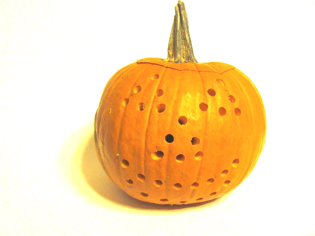Picture of Carve and Drill Your Pumpkin