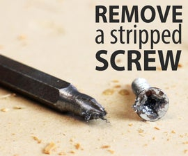 5 Ways to Remove a Stripped Screw