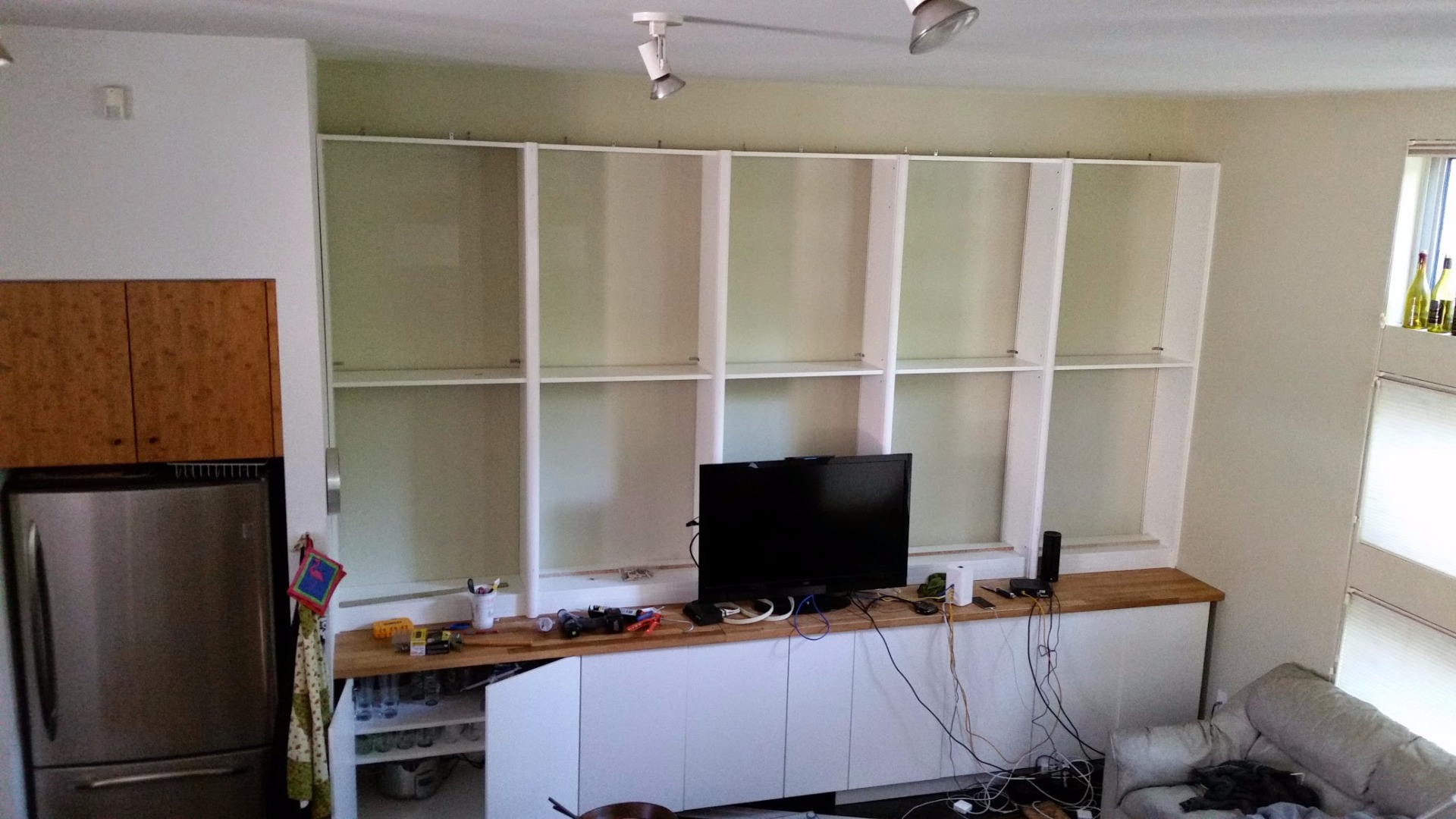 Picture of Install the Bookshelves
