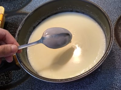 Avocado Ice Cream Base (eggless)