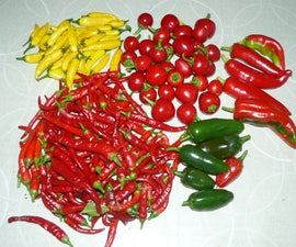 Preserving Chillies: Jam, Flakes, Powder