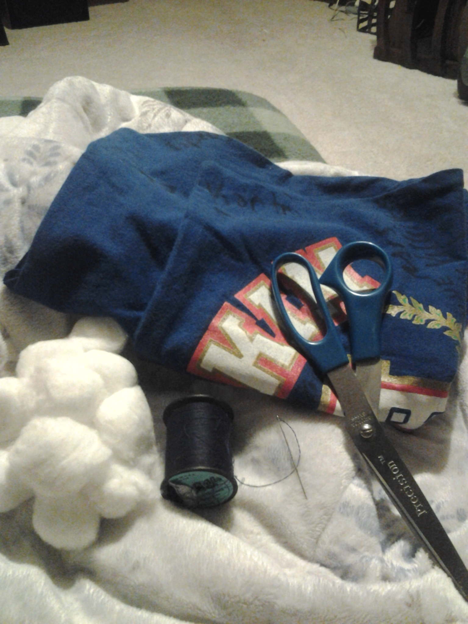 Picture of How to Turn Your Old T-shirt Into a Pillow