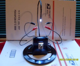 LED HELPING HANDS (lcd monitor base)