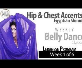 Belly Dance Weekly: Beginner (Week 1 of 6) Lebanese Style