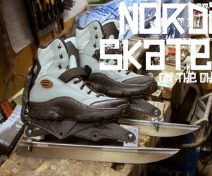 Nordic Skates Made of Inlines