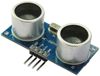HC-SR04 Ultrasonic Sensor With Raspberry Pi