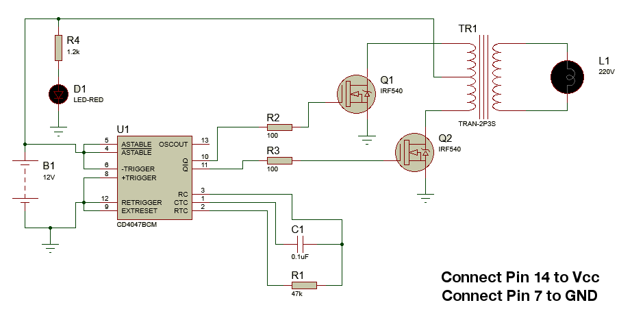 Picture of Circuit Diagram & Other Details