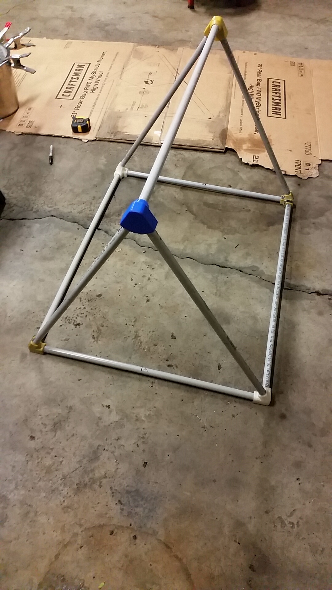 Picture of Creating the Frame, Part 1