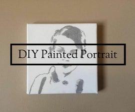 DIY Painted Portrait